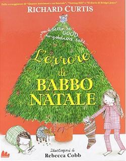 """Copertina del libro """"L'errore di Babbo Natale"""""""