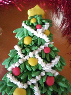 biscotto albero di natale