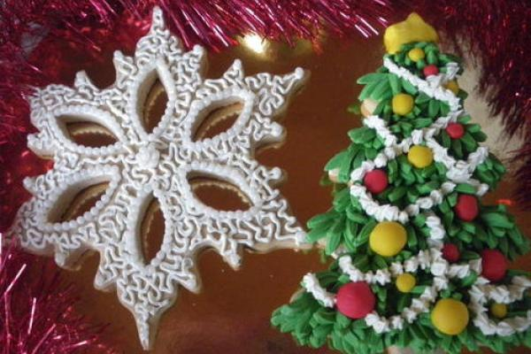 Biscotti Albero Di Natale 3d.Idee Decorazione E Regalo I Biscottoni Di Natale 2d O 3d Mammeonline